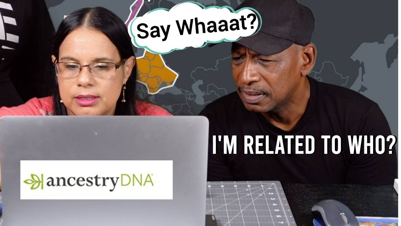Husband Does AncestryDNA   FINDS OUT HE'S RELATED TO WIFE