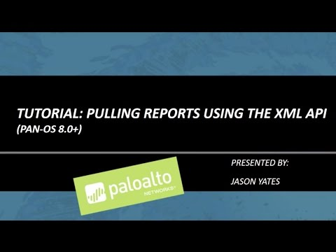 Tutorial: Pulling Reports using the XML API