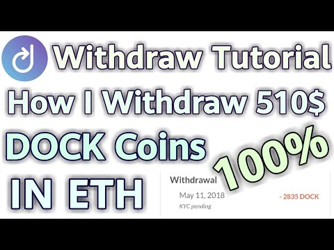 How I Withdraw My 510$ Dock Coins 😊