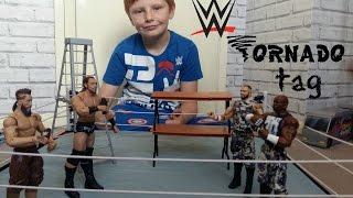 wwe toys tag team match .