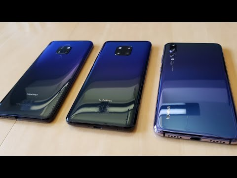 Hands On And Initial Impressions With The Huawei Mate 20 & 20 Pro