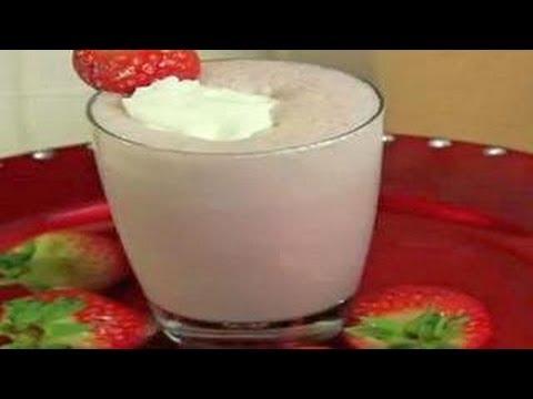 Strawberry Milkshake - Kids Recipe