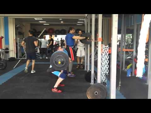 Front squat 130kg x3