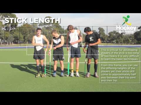 Stick Length - Hockey Australia Skill Set