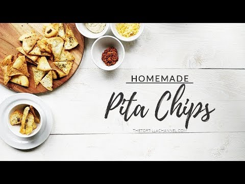 Homemade pita chips | Tasty snack recipe