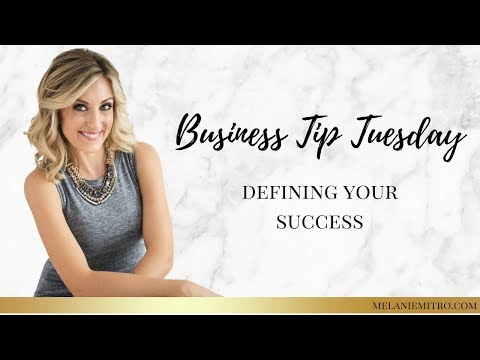 Jan 16th Business Tip Tuesday: Defining Your Success