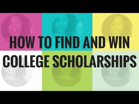 How To Get Scholarships In College