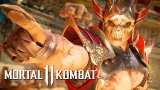 Mortal Kombat 11 - Official Shao Kahn Gameplay Reveal Trailer