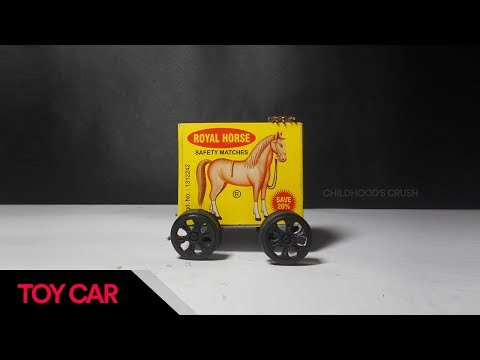 How to Make a Electric Toy Car at home  | Matchbox Car
