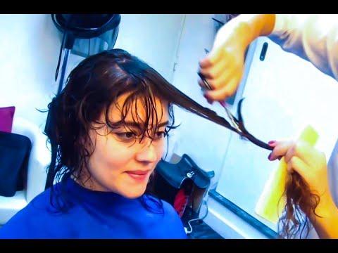 Haircut show! 18 women loosing long hair