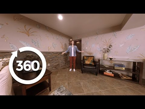 360 Tour of Clinton and Hildi's Trading Spaces Rooms