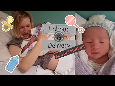 Labour and Delivery Story || PREGNANT AT UNIVERSITY