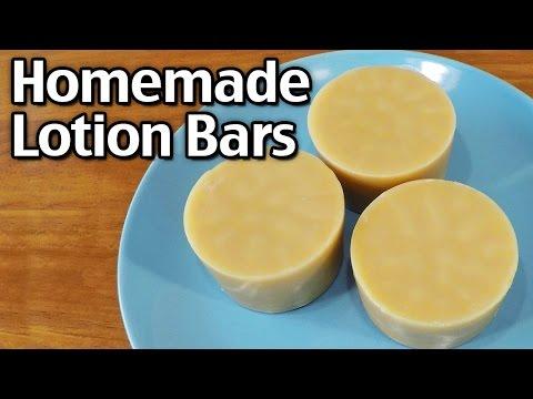How To Make Natural Homemade Lotion Bars