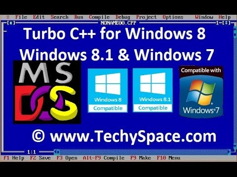Download and Install Turbo C++ for Windows 8, Windows 8.1 and Windows 7 Easily - My Coding Pad