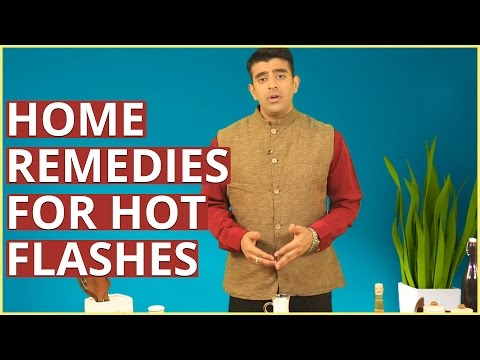 2 Home Remedies For MENOPAUSE HOT FLASHES & NIGHT SWEATS In Women