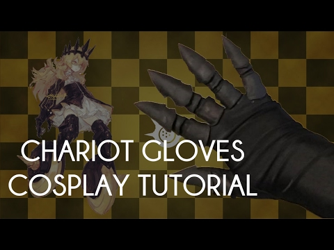 Cosplay Tutorial - Chariot (Black Rock Shooter) - Gloves