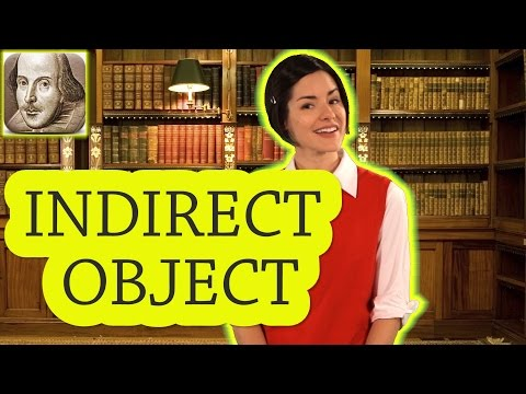 What is an Indirect Object? English Grammar for Beginners | Basic English | ESL