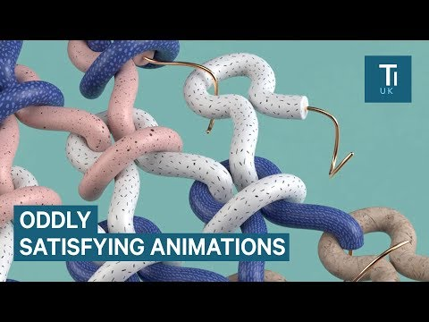 Motion Graphics Designer Makes Satisfying Animations