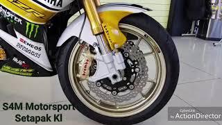 Yamaha Exciter 150   MX King 150 Modification
