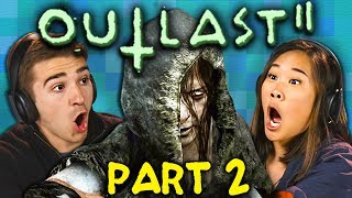 SHE KILLED HIM!!! | OUTLAST 2 - Part 2 (React: Gaming)