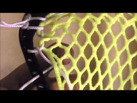Stringing for beginners (Top and Sidewalls)