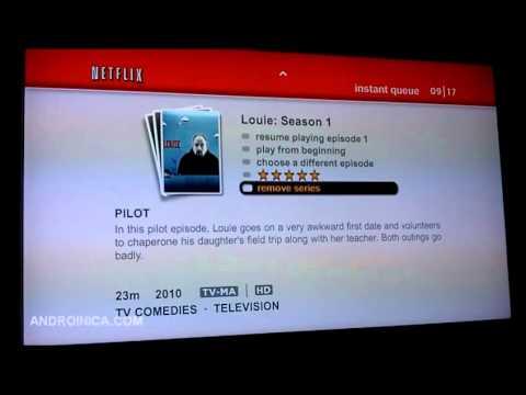 Google TV Apps - Netflix