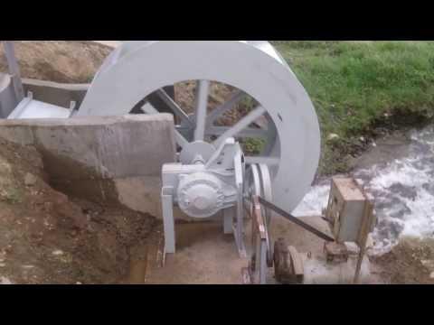 Water wheel power