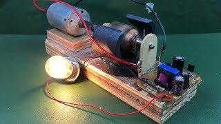 self running dc motor generator Videos - 9tube tv