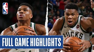 JAZZ At BUCKS Giannis Drops Double Double 2019 NBA Preseason