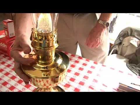 Lighting an Aladdin Lamp
