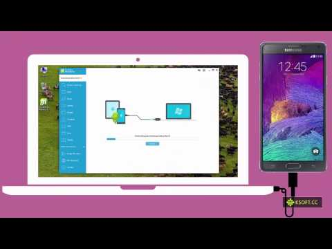 Samsung Galaxy Note 4 - How to Sync Outlook Contacts to Android Phone