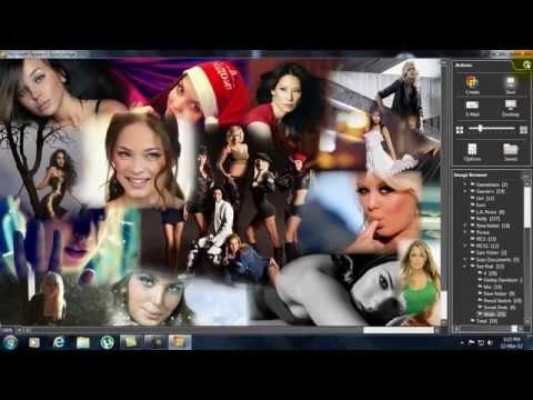 Microsoft Auto Collage 2008 Tutorial - Rock's Video