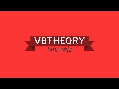VBTheory Tutorials - Channel Trailer