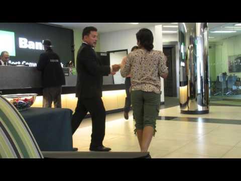 Bring Change - A Salsa Lesson at TD Bank
