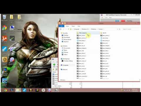 How to change mouse cursor Windows 8