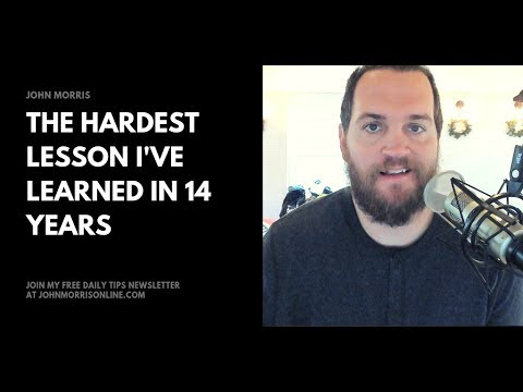 383: The hardest lesson I learned in 14 years as freelance developer