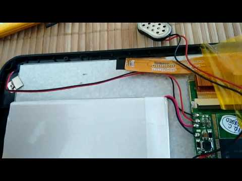 Como cambiar la pila de una tablet Polaroid PMID70C