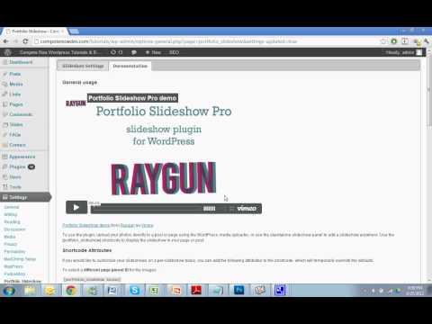 Adding a Slideshow to Any Page with the Portfolio Slideshow Plugin