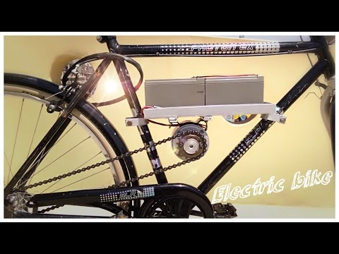 how to make simple electric bike|| Creative Science