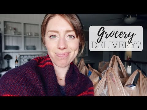 TRYING GROCERY DELIVERY 🥕🚙 Kroger Instacart Review Vlog
