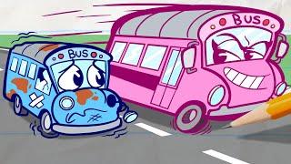 Pencilmate's Bus Goes Bonkers!