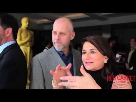 David White & Elizabeth Yianni Georgiou #GuardiansoftheGalaxy #Oscars Makeup & Hairstyling Symposium