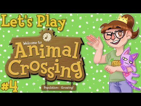 Animal Crossing Population Growing Stream Let's Play - Part 4