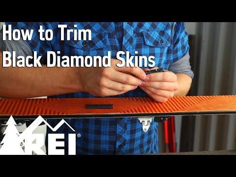 Skiing: How to Trim Black Diamond Skins