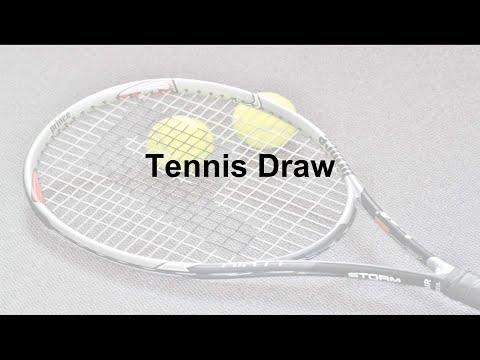 Tennis Draw Using Lists