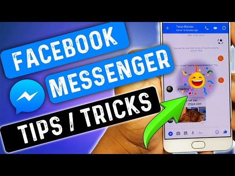 7 Awesome Facebook Messenger Tips & Tricks || Create Messenger Account W/O Facebook ID..
