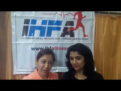 International Health and Fitness Association Pune Feedback for Back Pain Session