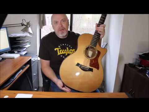 Tonewood Amp Demo on a Taylor Acoustic Guitar