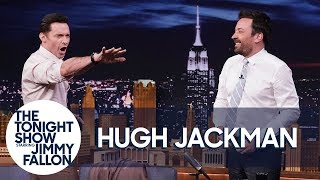 Download Hugh Jackman and Jimmy Attempt a Guinness World Record Video