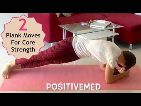 Two Plank Moves For Core Strength, Stability, and Flat Abs